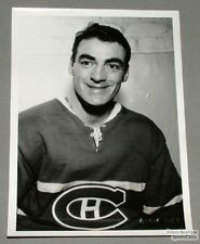 Origin. Early 60's Jean-Guy Gendron Mtl Canadiens Photo