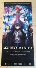 MADOKA MAGICA THE MOVIE Locandina Originale 33x70 Poster Film Japan Anime PUELLA