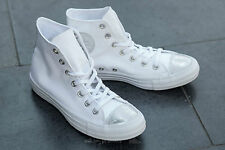 Converse CT All Star Brush Off Leather Toe Cap White Trainers - Women's UK 5
