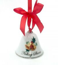 "Irish Christmas Bell Ornament ""Nollaig Shona!""  Happy Christmas in Gaelic"