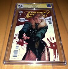 CGC SS 9.6 Justice League Of America #6 Variant Black Canary Signed Adam Hughes