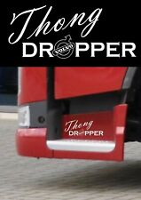 VOLVO TRUCKS THONG DROPPER STICKER FH FM  GLOBETROTTER HAULAGE TRUCK DRIVER