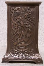"""Candle Holder Celtic Lion NEW for 3/4"""" diameter dinner taper OR 3"""" post candle"""