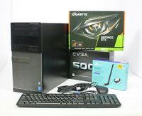 Gaming PC Quad Core customize i5 or i7 with 1060 or 1660 Ti and 240GB to 1TB SSD
