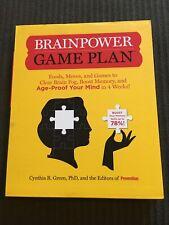 Brain Power Game Plan by Cynthia R. Green (Paperback)