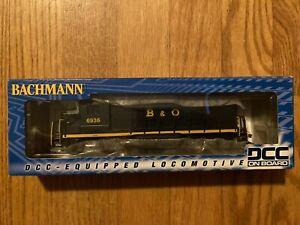 Bachmann 60806 GP 30 B & O Diesel Locomotive Model Train Engine HO Scale DCC