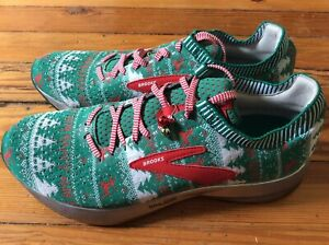 NEW Brooks Levitate 2 Ugly Sweater Christmas LE Men's Running Shoes - Sz 10