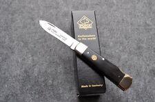 Puma Ebenholz Jagd Taschenmesser Messer Klappmesser Stahl 1.4110 Neu 329310