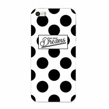 Case For iPhone 5S 5C 6 6S 7 Plus Soft TPU Mobile Phone Cover Skin Dots Plaid