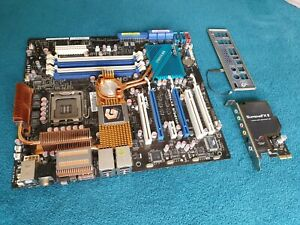 ASUS ROG MAXIMUS EXTREME motherboard, X38,TOP for LGA775 CPUs, with Supreme FXII