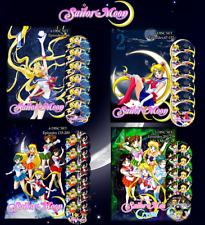 Sailor Moon Complete Collection on DVD (English Dubbed) Season 1-6 & 3 Movies