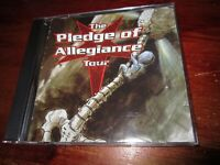 V/A - THE PLEDGE OF ALLEGIANCE TOUR 2001 SAMPLER CD PROMO, FREE SHIPPING