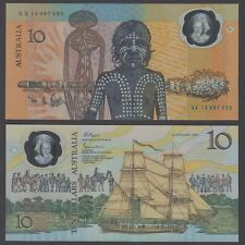 Australia 10 Dollars ND 1988 UNC Polymer 200th Commemorative KM #49a