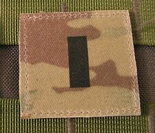 Galon US - 1St LIEUTENANT - grade scratch MULTICAM rank insignia SNAKE PATCH