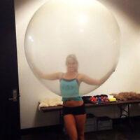 Eg _ 36'' Groß Transparent Latex Ballons Hochzeit-Geburtstag Party Dekor