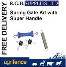 Electric Fence Spring Gate Set - High Quality Super Handle, Spring and 2 Breaks