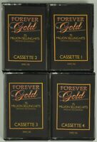 Job Lot Of 4 Forever Gold Cassettes Tapes 1 2 3 1950s 1960s 1970s Music Vintage