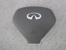 09-13 Infiniti G37 Sedan OEM Tan Steering Wheel SRS Bag Air *FastShipping*