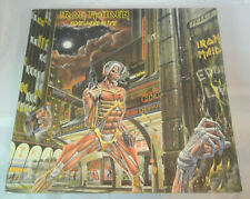 Iron Maiden Somewhere In Time Sealed Vinyl Record LP USA 1986 CRC