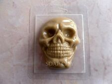 """Skull 2"" plastic soap mold soap making mold mould halloween"