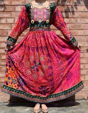 Banjara Traditional Tribal Boho Handmade 70s Kuchi Afghan Nomad Old New DRESS