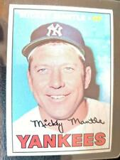 1967 TOPPS #150 MICKEY MANTLE BASEBALL CARD YANKEES EXCELLENT CONDITION?