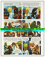 PLAYBOY STORY, LITTLE ANNIE FANNY, CARTOON. DEC 1971, PAGE 2- REPRINT (11x14)
