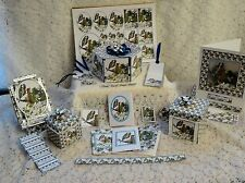 "card paper crafting templates CD: ""Bluetits"" MPN CD431 by Frandor Formats"