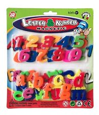 52pc Magnetic Alphabet Lower Case Letters & Numbers Fridge Magnets Toys Learning