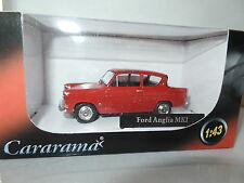 Cararama CR040 1/43 O Scale Ford Anglia 105E Monaco Red