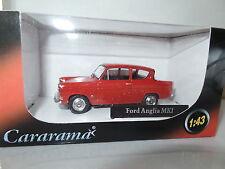 Cararama CR040 1/43 o scale ford anglia 105E monaco red