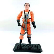 "Hasbro Star Wars Saga A New Hope Dutch Vander Gold Leader BATTLE 3.75"" figure"