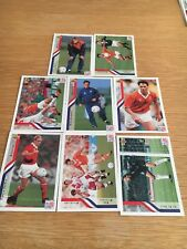 World Cup 1994 USA Upper Deck Soccer Cards - 8 netherlands cards + 2 random