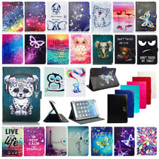 "US For Samsung Galaxy Tab 2/3/4/ 7"" Universal PU Leather Tablet Stand Case Cover"