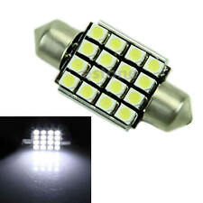 12V 36mm 16 LED 1210 SMD Car Error Free Festoon Map Light Bulb Lamp White Canbus