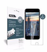 1+1x Apple iPhone 8 Protector de Pantalla Vidrio Flexible Cristal Proteccion 9H