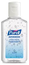 Purell Advanced Hygienic Hand Rub 30ml Travel Pocket Size Flip Top Bottle
