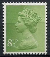 GB SG#X881, 8.5p Light Yellowish Green QEII Machin Definitive 2B MNH #D2937