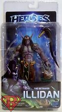 "THE BETRAYER ILLIDAN Heroes of the Storm 7"" Video Game Figure Series 1 Neca 2015"