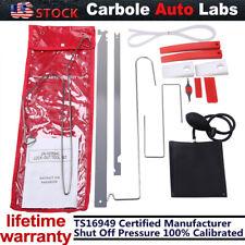 Universal 12Pcs Car Door Open Unlock Tool Kit Key Lost Lock Out Air Pump W/Wedge