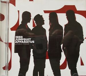 The Red Jumpsuit Apparatus ‎Lonely Road CD Australia 2008