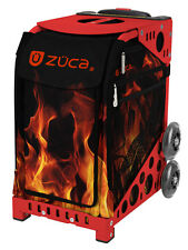 ZUCA Bag BLAZE Insert & Red Frame w/Flashing Wheels - FREE SEAT CUSHION