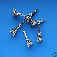20 x Tibetan Silver 3d Eiffel Tower Pendant Charms Paris