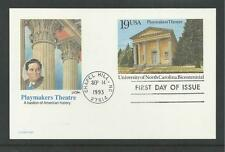# UX170 PLAYMAKERS THEATRE  1993 FLEETWOOD Postal Card