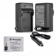 LP-E8 Battery Pack + Charger Combo for Canon Rebel T5i T4i T3i T2i DSLR Camera