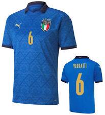ITALIA FIGC MAGLIA VERRATTI HOME 2020-21 ITALIA HOME SHIRT JERSEY TRIKOT