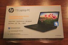 "New HP 15.6"" Touch Laptop/Intel Pentium Quad-core/4GB/1TB/Win10/Bluetooth/Black"