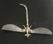 Dragon Fly Brooch Pin Nice Sterling Silver 925 Mexico