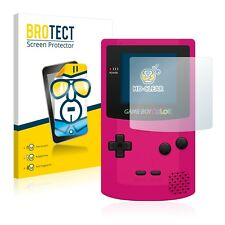 2x BROTECT Displayschutzfolie Klar Nintendo Gameboy Color Schutzfolie