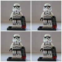Star Wars Darth Vaders Storm Clone Troopers Mini Figures use with lego Jedi